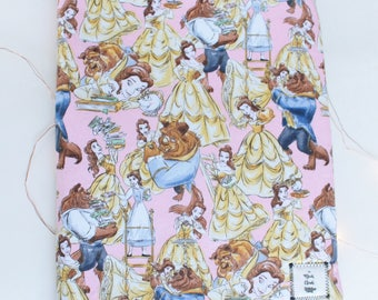 CLEARANCE: LG Disney Belle Beauty and the Beast Book/ Tablet/ Ereader Sleeve Book Cloak