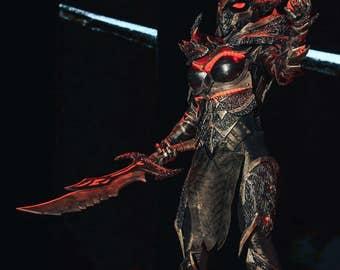 Daedric armor Skyrim Cosplay. free shipping