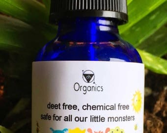 Naturally Organic Kids Insect Repellent