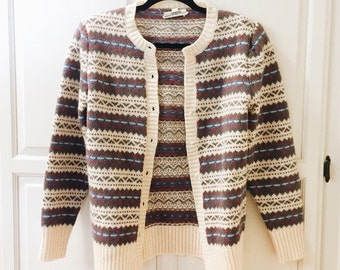 I. MAGNIN VINTAGE '70s - button down sweater