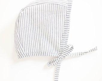 Striped Bonnet