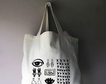 Santa Fe Reusable Canvas Tote Bag
