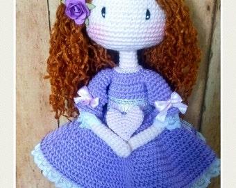 Andrea Doll amigurumi (tilda)