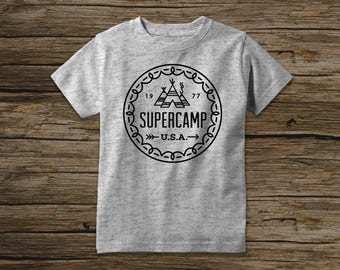 Supercamp Tee Pee - Boys' Tee