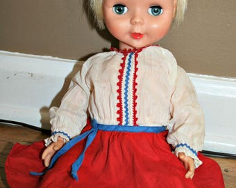 Vintage Baby Brite Baby Doll by Deluxe Reading Corp