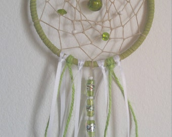 Lime Breeze Dream Catcher