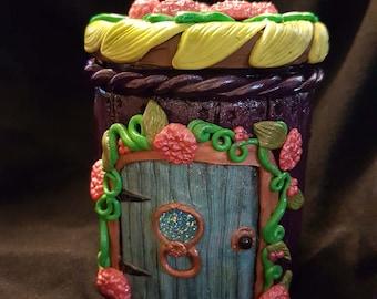 Fairy House Keepsake Jar