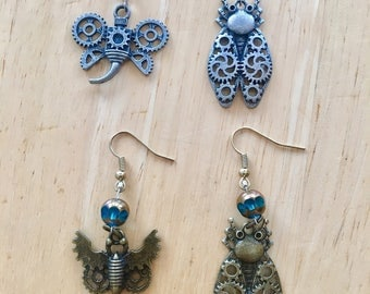 Steampunk Insect Earrings