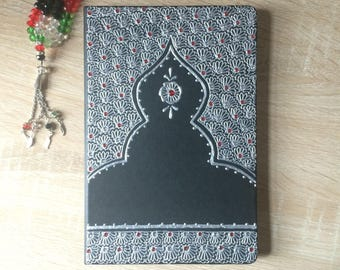 Personalised Henna Inspired A5 Notebook