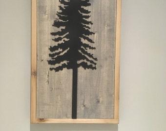 Steel Westcoast Tree Art