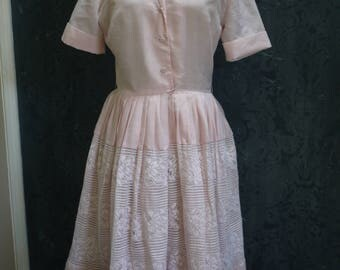 "1950s Pink ""Betty"" Dress"