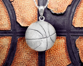 Basketball Necklace Pendant