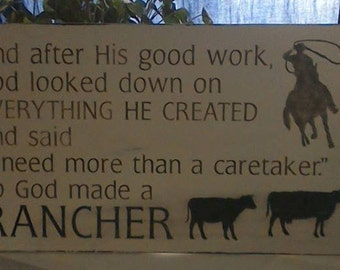 God Made a Rancher