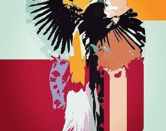 Digital Print - Bird of Paradise A3/A4/A5