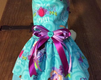 XS Princess Sofia Dog Dress