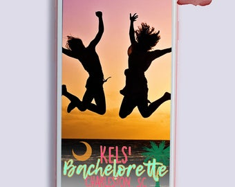 Charleston Snapchat Geofilter, Bachelorette Snapchat Filter, Bachelorette Geofilter, Snapchat Geofilter