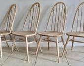 SOLD  Ercol Windsor Quaker Chairs  Fully Restored