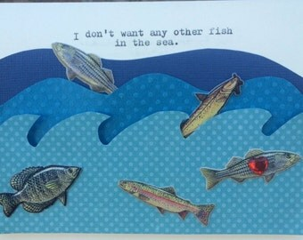 Only fish in the sea etsy for Other fish in the sea
