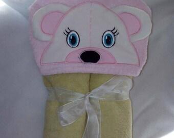 "Cape of bath sponge ""bear"" baby 0/1 year"