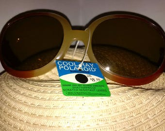 Cool Ray Polaroid 210 Mint Condition never worn with tag vintage sunglasses