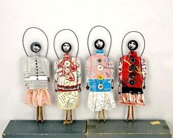 Girl Power Art Dolls