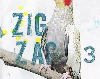 Zig Zag 3: a creative art zine