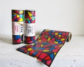 One Roll Vintage Stix Faux Stained Glass Self-Adhesive Contact Window Trim