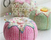 PDF Sewing Pattern for Tomato Pincushions Instant Download