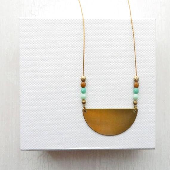WHOLESALE LISTING // Reflection Necklace - Turquoise // NRT