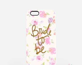 BRIDE TO BE Tough Case, iPhone Cover, Samsung Galaxy Cover,