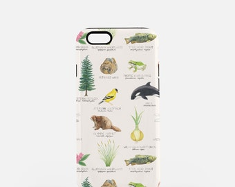 iPhone 7 Case / Washington State Symbols iPhone 7 Case / iPhone 7 Tough Case / iPhone 6 Case / Washington iPhone 6 Case / iPhone Tough Case