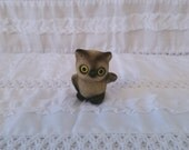 Small Josef Originals Fuzzy Flocked Owl