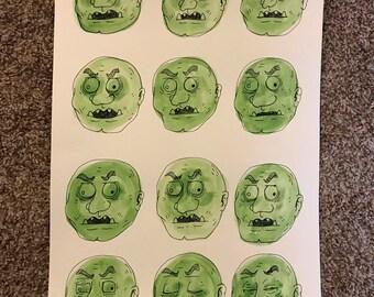 Too Many Oni (Green Heads)