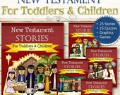 Complete New Testament Stories (For Toddlers and Children) - INSTANT DOWNLOAD