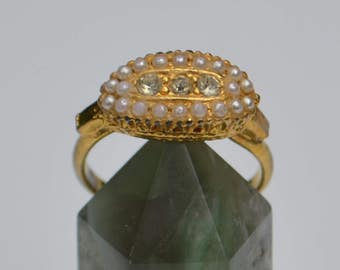 Vintage Victorian-Style Costume Ring