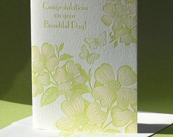 Dogwood Congratulations Card