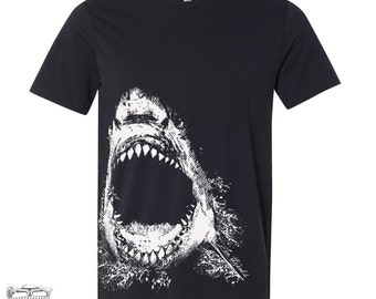 Mens SHARK T Shirt  s m l xl xxl (+ Color Options)