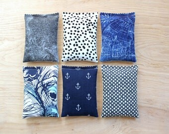 Lavender Sachets for Women, Travel Accessories for Her, Lavender Bags, Scented Drawer Sachets