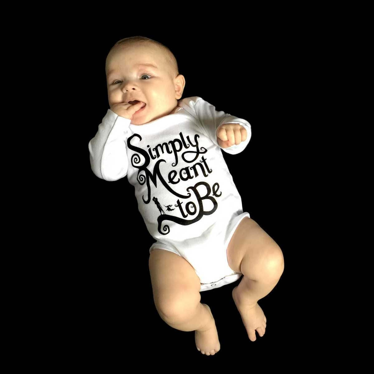 Simply Meant to Be - Baby Onesie - Short or Long Sleeve