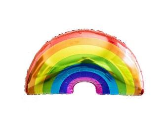 RAINBOW Balloon, Rainbow Gifts, Rainbow Party Theme, Rainbow Fun, Unicorn and Rainbows, Rainbow Decoration, Rainbow Birthday Party, Rainbow