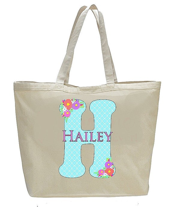 Bridesmaid Bags, Monogrammed Canvas Bride Tribe Bag, Personalized Bridesmaid Gift, Wedding Party Gifts, Matching Bridal Gifts, party totebag