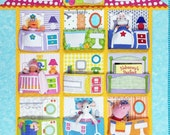 Brand New Dollhouse Quilt Pattern by Amy Bradley Designs
