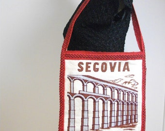 Soft, Woven Segovia, Spain Shoulder Bag