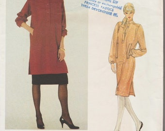 Vogue Paris Original 2773 / Vintage Designer Sewing Pattern By Yves Saint Laurent / YSL / Dress Tunic Skirt / Size 10