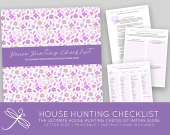 The Ultimate Printable House Hunting Checklist Rating Guide