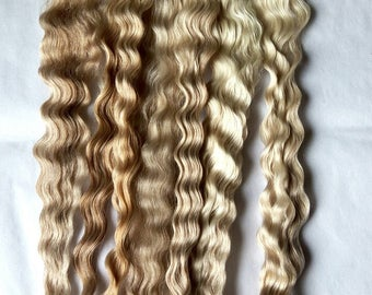 Natural mohair 12-13 inches
