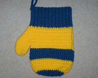 Crochet Mitten Stocking