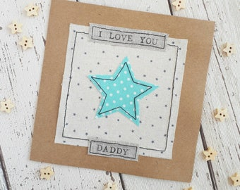 Father's Day card,1st Father's Day card,Happy Father's Day,personalised Father's Day card,Daddy card,Daddy cool, Daddy or chips,Grandad