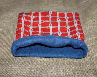 MEDIUM Sailor Knot pouch for Small Pocket Pets- Guinea Pigs, Rats, Rodents, Hedgehogs, Chinchillas and more!