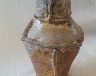 Wood Fired Pottery Vase/Bottle